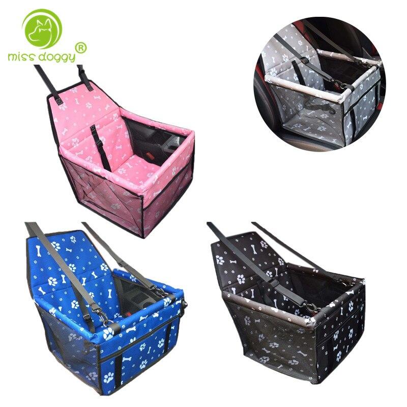 Nouveau Design belle bande dessinée os imprimé Pet chien sacs de haute qualité confortable sac respirant pour chiens voiture Portable Accessories20E