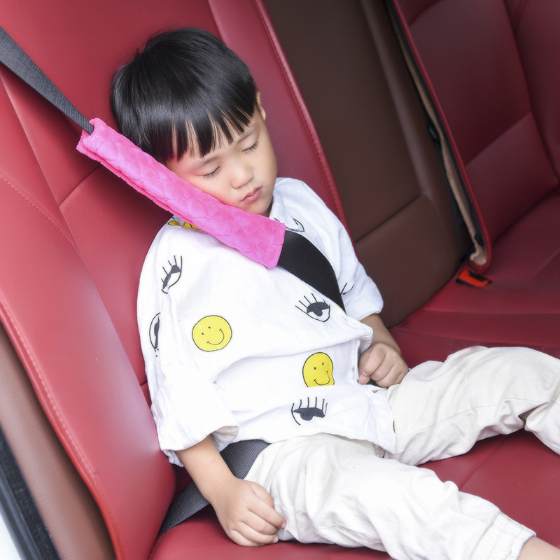 Soft Baby Car Seat Belt Shoulder Pillow Car Safety Strap Belts Pillow Protection