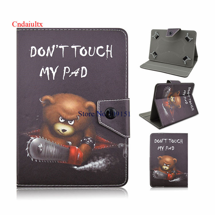 Universal Cartoon Cover For Samsung Galaxy Tab A 8.0 T350 T351 T355 8 Inch Tablet PU Leather Stand Case Free Pen