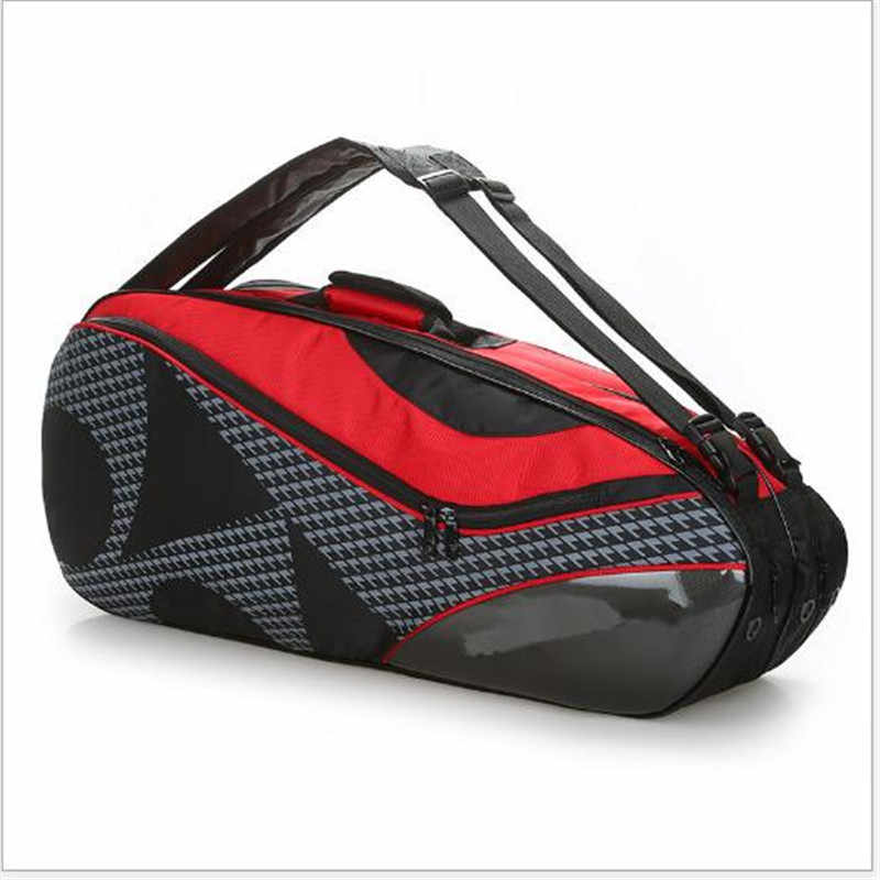 2019 new professional Badminton package backpack Tennis bag Tennis racket bag Badminton racket bag Sports bag Training racket