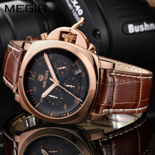 Luxury Chronograph Military Watch
