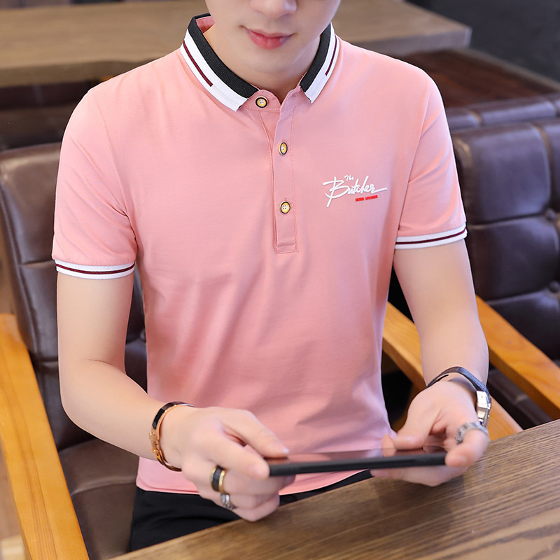 Summer POLO Shirt Men Cotton Breathable Business Casual Male Polo Shirt Short Sleeve Jerseys Plus Size M-3XL Hot Sale 2019 New