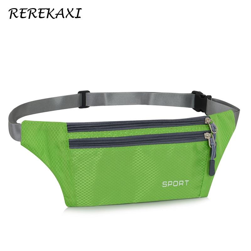 REREKAXI Fashion Women's Fanny Pack, On Foot Travel Men's Waist Bag,Colorful Bum Bag Waterproof Money Belt Mobile Phone Bags