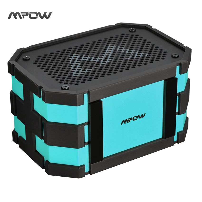 Mpow Armor Bluetooth Speaker Portable IP65 Waterproof Shockproof Wireless Speaker 5W Loudspeaker + Extral 1000mAh Power Bank защитное стекло для bq bqs 5520 mercury luxcase