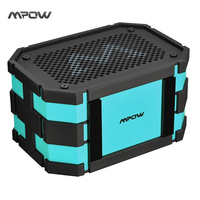 Mpow MPBH063BL Bluetooth Speaker Portable Wireless With Extral 1000 MAh Waterproof