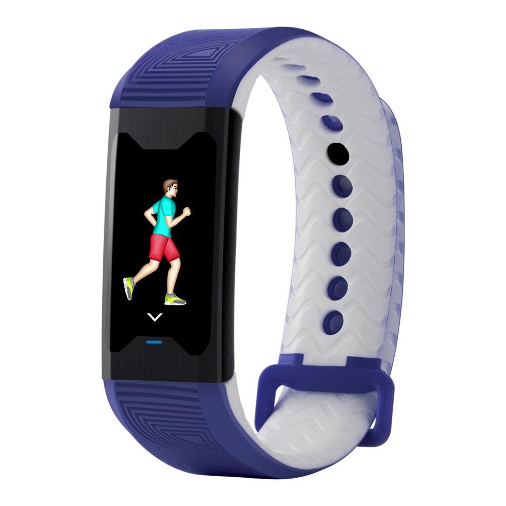 Nouveau chaud B31 couleur écran Fitness Tracker Bracelet intelligent fréquence cardiaque sang moniteur d'oxygène Bracelet pour Xiaomi iPhone Huawei téléphone