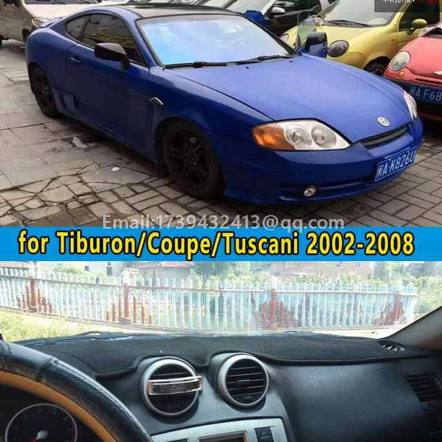 Online Dashmats Car Styling Accessories Dashboard Cover For Hyundai Tiburon Coupe Tuscani 2002 2003 2004 2005 2006 2007 2008 Aliexpress Mobile