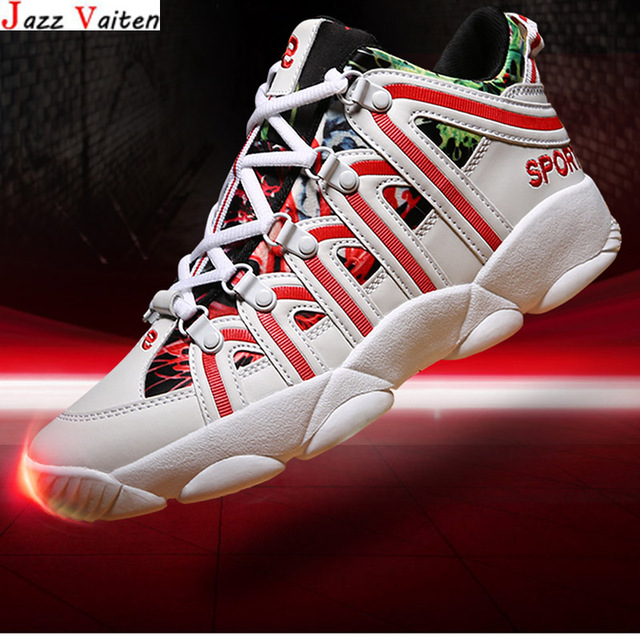 Jazz Vaiten New Arrived Basketball Shoes High Cut Sneakers Mesh And