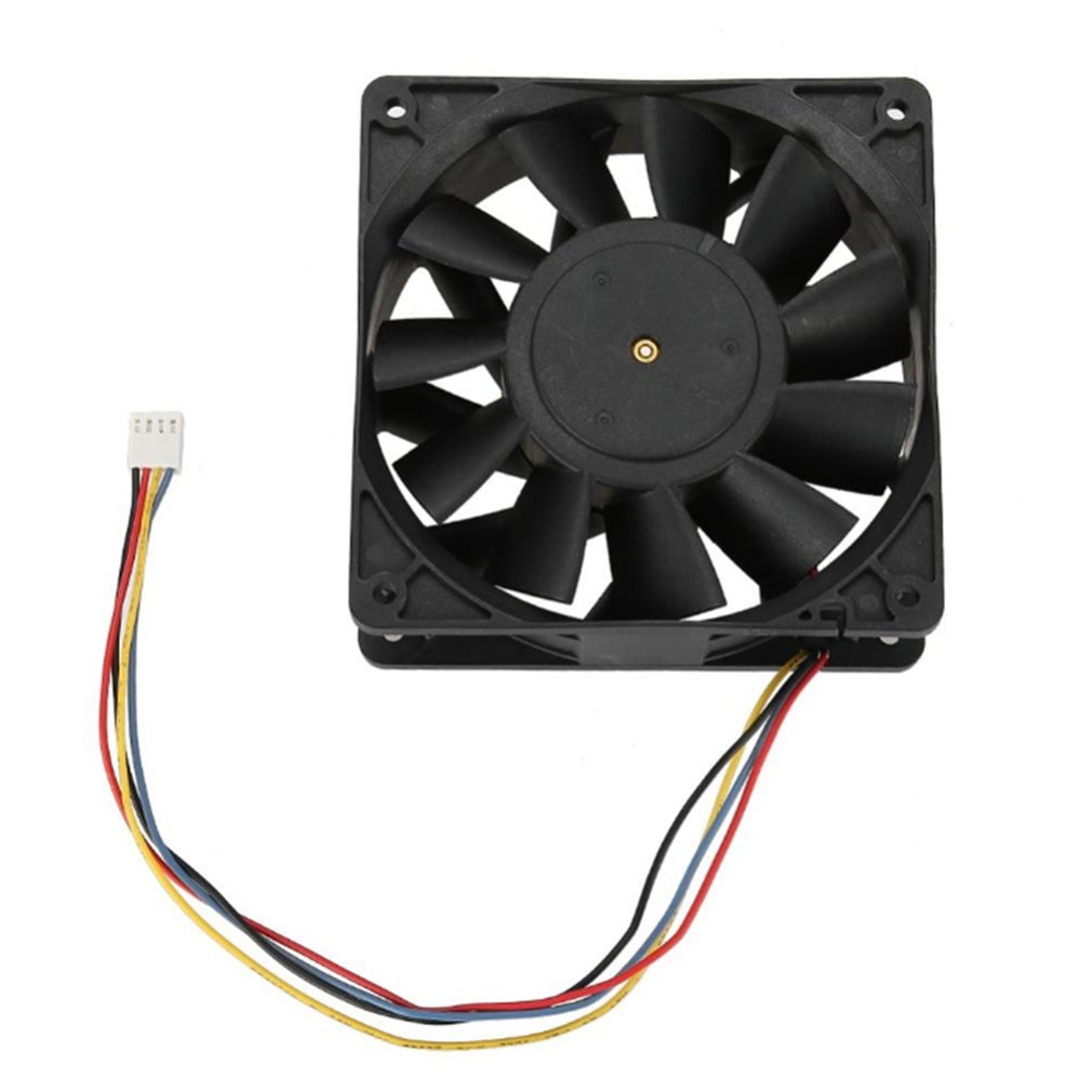 V12E12BS1B5-07 12V 1.85A 6000RPM+ Mining Machine Cooling Fan Support speed measurement / PWM temperature controlV12E12BS1B5-07 12V 1.85A 6000RPM+ Mining Machine Cooling Fan Support speed measurement / PWM temperature control