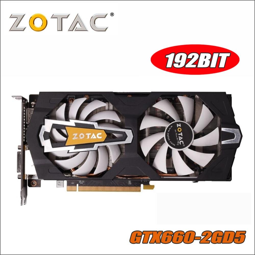 все цены на ZOTAC Video Card GeForce GTX 660 2GB 192Bit GDDR5 Graphics Cards for nVIDIA Original GTX660-2GD5 Devastators Hdmi Dvi 750 ti