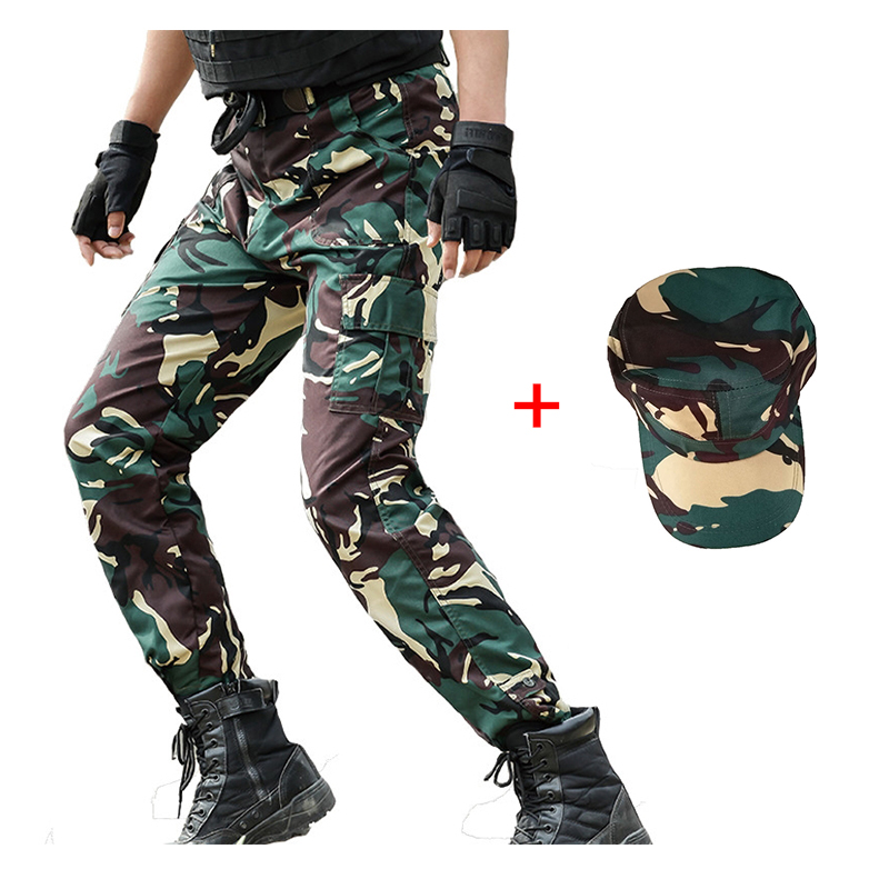 Military Uniform Camouflage Pants Tactical Combat Multicam Pant Men CS Hunting Clothing Uniforme Militar US Army Bottoms Mens