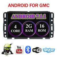 2G RAM Car Radio DVD Player Navigation GPS Wifi 4G Bluetooth Fits Chevrolet Tahoe Traverse BUICK Enclave GMC Yukon Tahoe Acadia