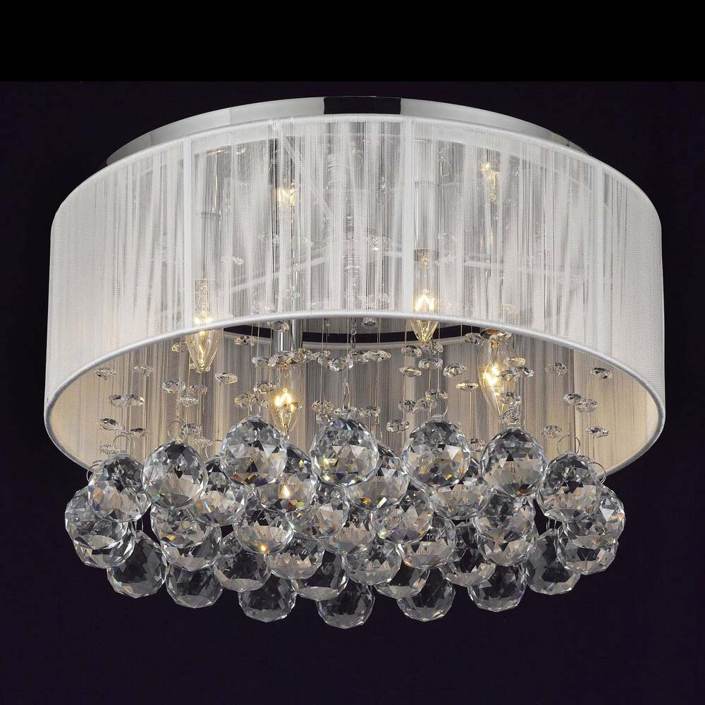 D40CM Crystal Ceiling Lights For Indoor Home Lighting Lamparas De Techo Led Lamps For Living Room Luminaria Teto Pendente WCL031 luminaria avize modern ceiling lights led lights for home lighting lustre lamparas de techo plafon lamp ac85 260v lampadari luz