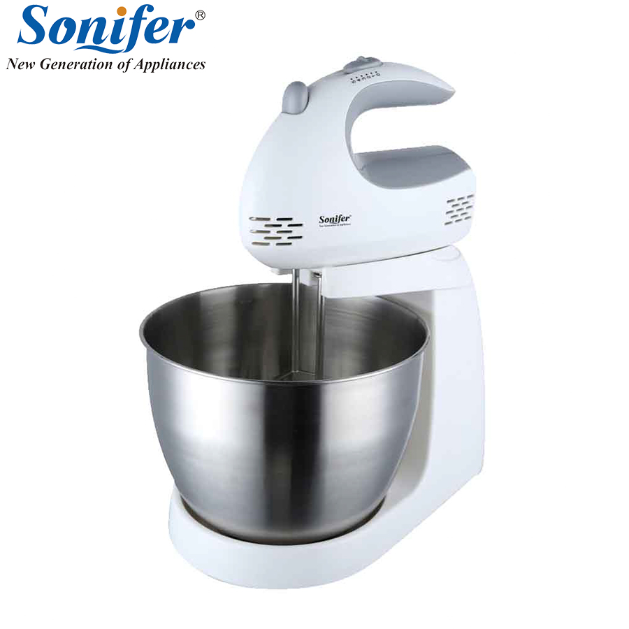 Multifunction Table Electric Food Mixers Dough Mixer Egg Beater 220v Food Blender for Kitchen Sonifer multifunction table electric food mixers dough mixer egg beater 220v food blender for kitchen sonifer