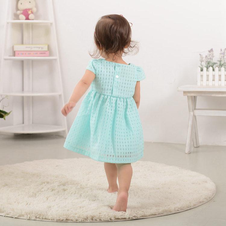 Nyári baba lány ruha, divat vékony hercegnő ruha, márka gyerek - Bébi ruházat - Fénykép 3