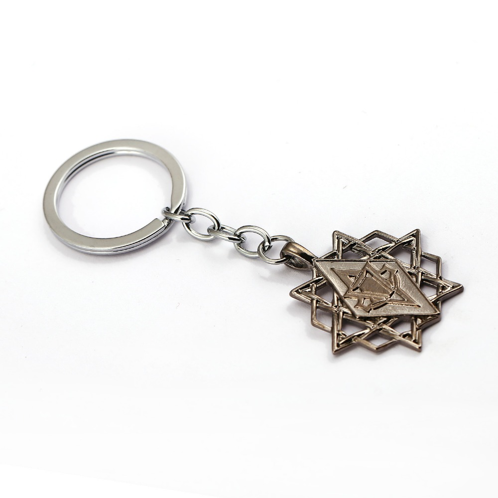 2017 New Assassins Creed Keychain Metal Alloy Movie Game Key Ring Holder Men Gift Chaveiro Amulet Car Key Chain