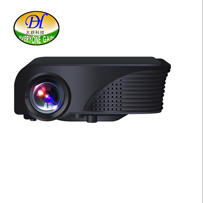 DH-Mini280b Excelvan Short Focus Lens Full HD Project Home Theater LCD LED 3D Game Projector Support 1080P TV Video Proyector
