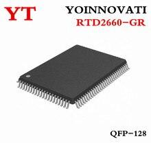 10pcs 많은 RTD2660 RTD2660 GR LCD 텔레비젼 어미판 운전사 칩 QFP128 IC 제일 질.