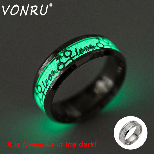 Glow In The Dark Wedding Rings Unique Wedding Ideas