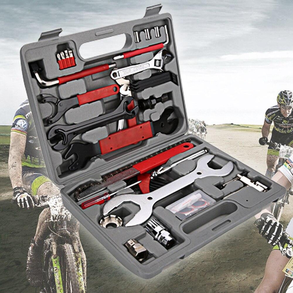 37pcs MTB Bike Ferramentas Multi Tools Bike Repair Tools Bicycle Bike Tool Kit Set Bike Repair Tool Set Bicycle Patch