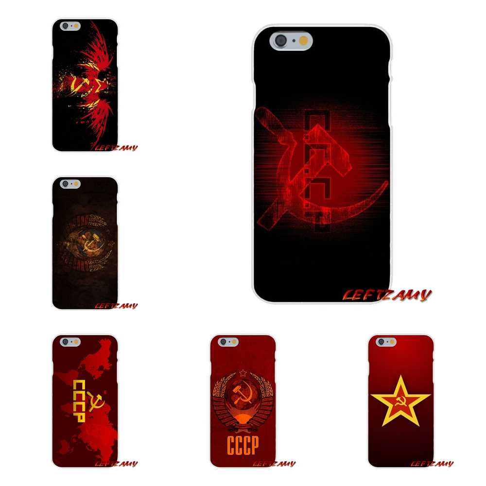 russia soviet emblem cccp Accessories Phone Shell Covers For Huawei P Smart y6 7 9 prime Mate P10 P20 Lite Pro Plus 2018 2019