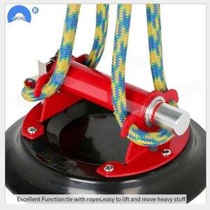 Image 4 - 9 Inch Vacuüm Zuignap Met Metalen Handvat Zware Vacuüm Lifter Voor Graniet & Glas Lifting