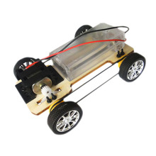 Board four-wheel drive technology small production funky diy science toys Mini Car toy