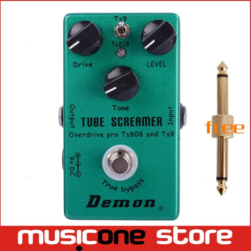 buy demon ts808 tube screamer overdrive pro vintage electric guitar effect. Black Bedroom Furniture Sets. Home Design Ideas