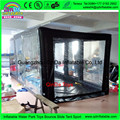 Transparent Inflatable Dustproof Inflatable Car Shelte Viewable Inflatable Car Garage Tent Car Capsule Showcase