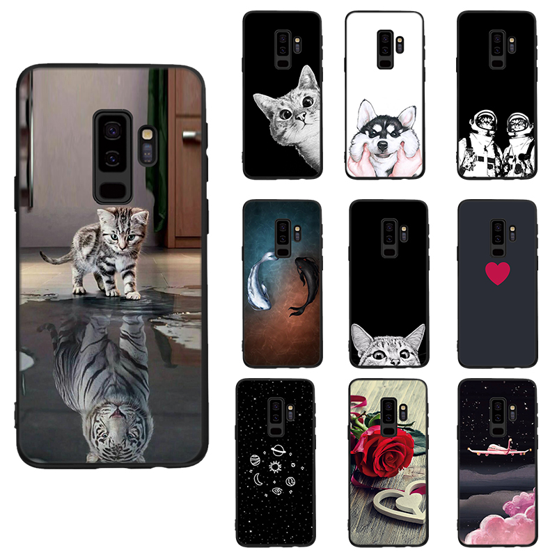 Love Heart Phone Case For Samsung <font><b>Galaxy</b></font> J5 J7 J3 2017 A3 A5 A7 2016 A6 A8 Plus <font><b>2018</b></font> S8 S9 S6 S7 Edge Note <font><b>8</b></font> 9 Soft Cover Coque image