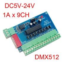 input DMX512 9CH 3