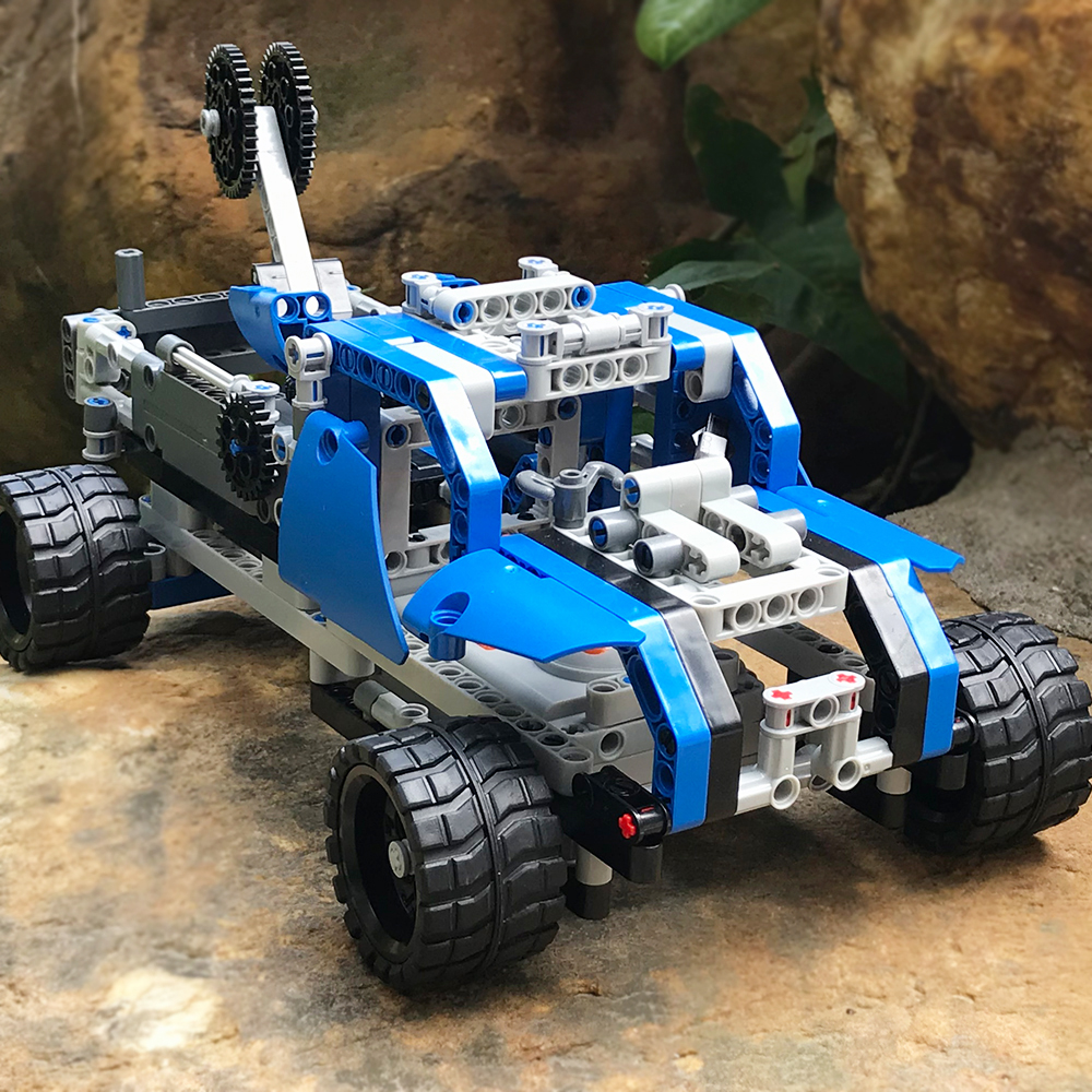 RC Cars DIY Building block high speed cars 2 channels 60 in 1 Sports Transformation Models Remote Control Deformation Kids gift haptic information in cars