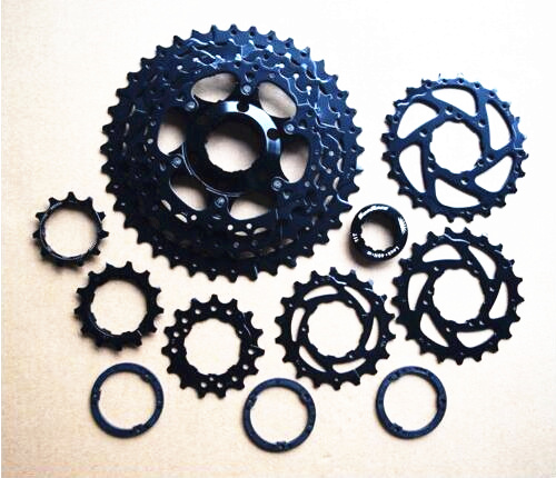 цена на SunRace Bicycle Freewheel 9 Speed CSM990 Mountain Bicycle Cassette Tool MTB Flywheel Bike Parts 11-40T