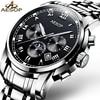 AESOP Top Brand Fashion Watch Men Waterproof Luminous Automatic Mechanical Wristwatch Male Clock Calendar Relogio Masculino