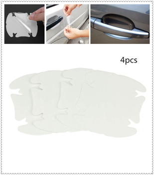 Car shape door handle protective film handle transparent stickers for Subaru Forester Ascent XV WRX VIZIV Outback image