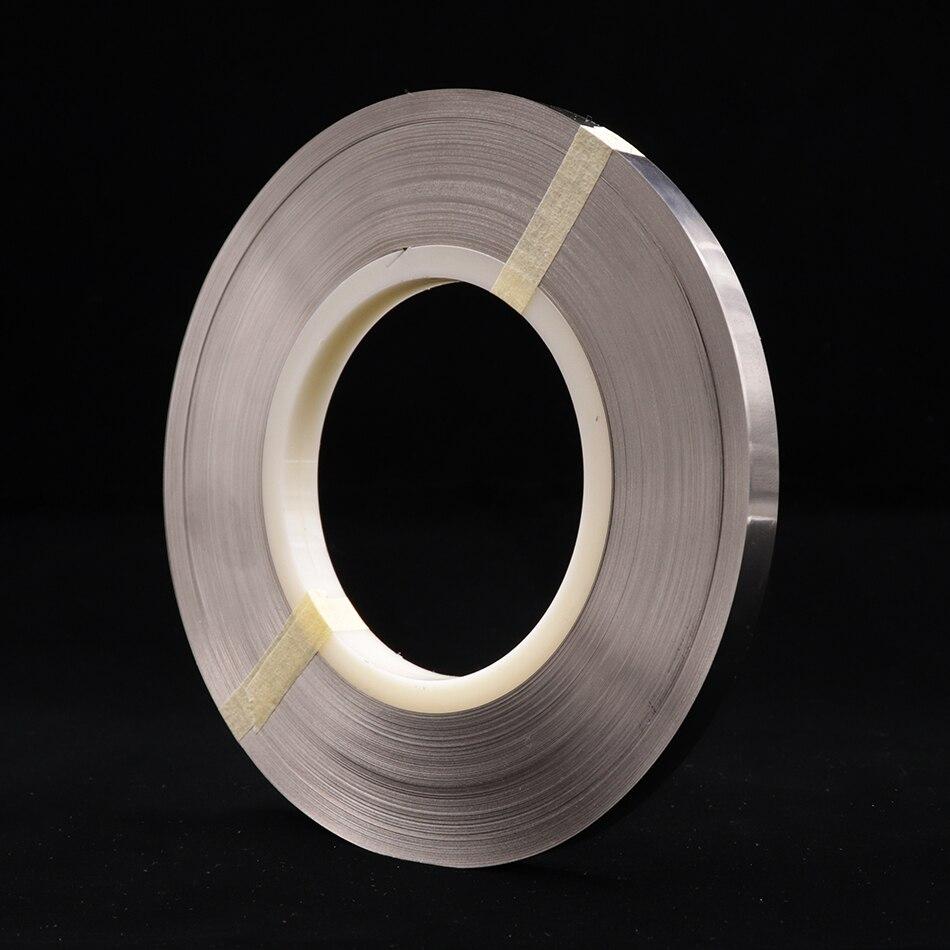 0 2X8mm spot welder pure nickel belt for spot welder nickel belt welding 18650 battery nickel