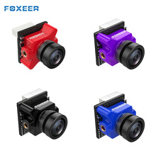 Foxeer mikro Predator 4 süper WDR 4ms gecikme OSD 1000TVL FPV kamera RC modelleri için Multicopter yedek parçaları DIY aksesuarları