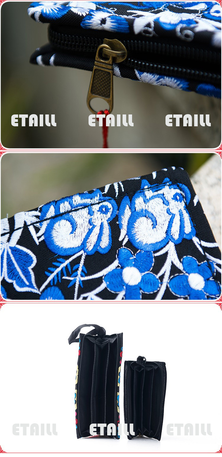 Embroider Purse Clutch
