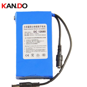 6pcs,capacity 6.5Ah current output 1.5A CE ROHS DC 12V lithium battery pack,polymer lithium battery pack li-ion polymer battery