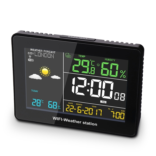Innovative Accurate Multifunction Wi-Fi Weather Station