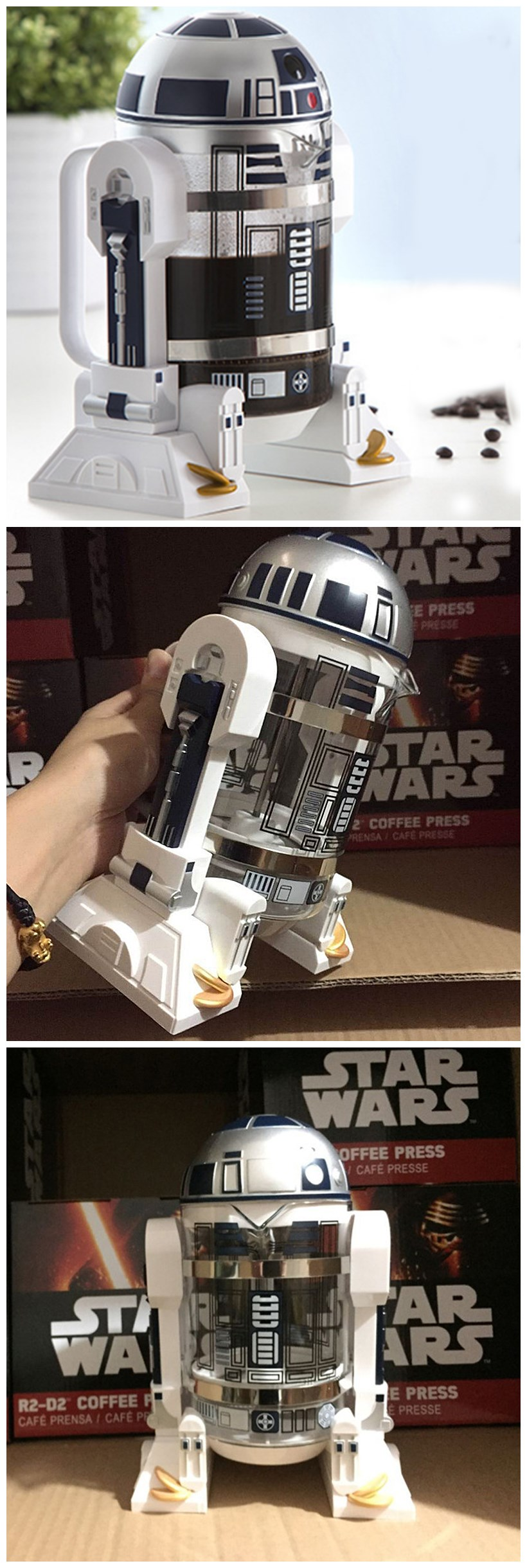 Star Wars R2-D2 Coffee Press (2)