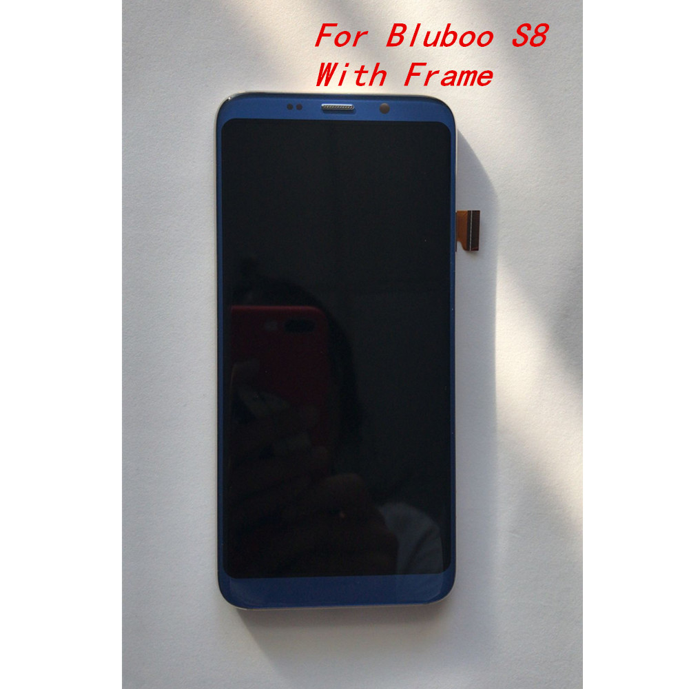 New Original For Bluboo S8 5 7inch Phone LCD Display With Frame Assembly Touch Screen Panel