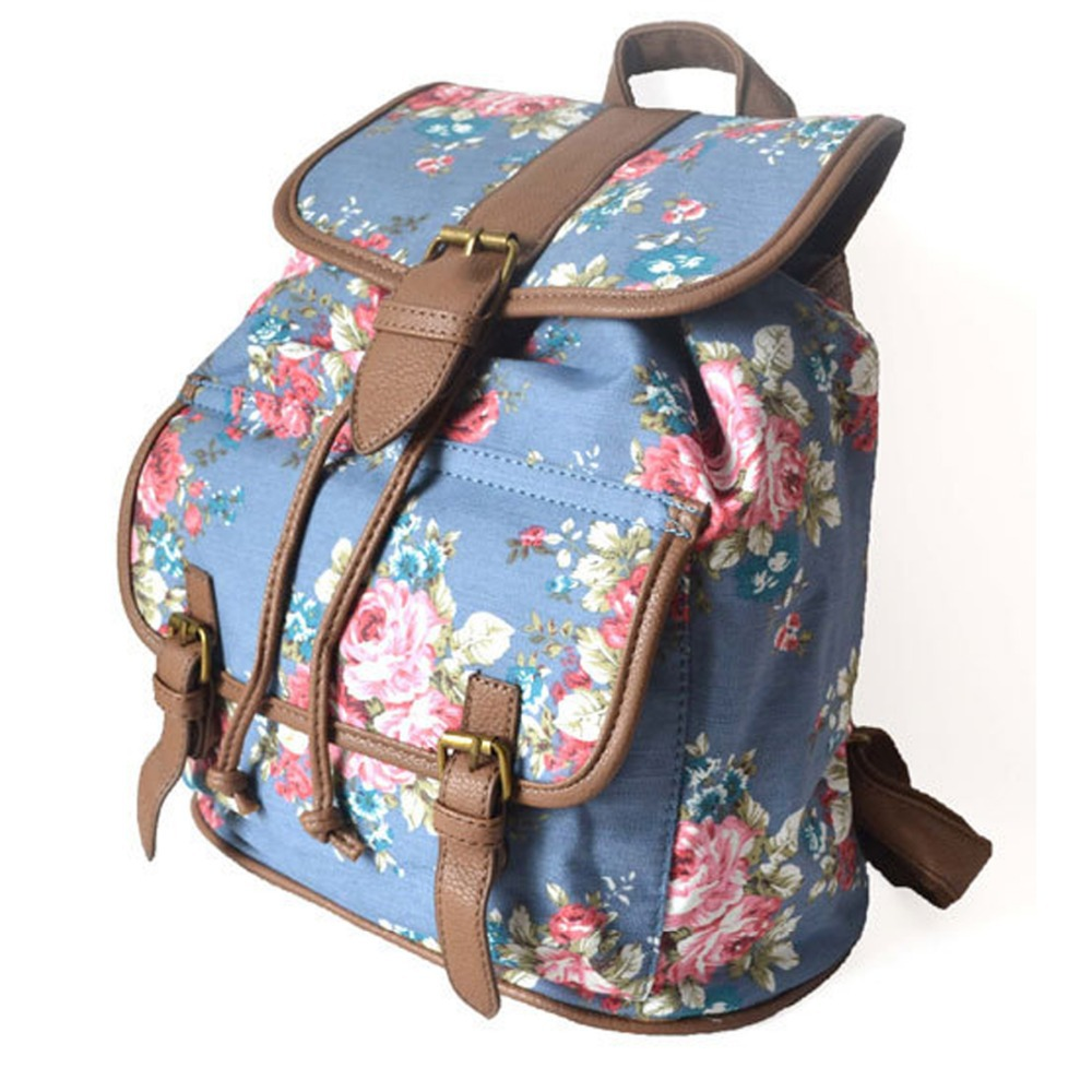 Aliexpress.com : Buy Canvas Shoulder Backpack Bags Female Backpack ...