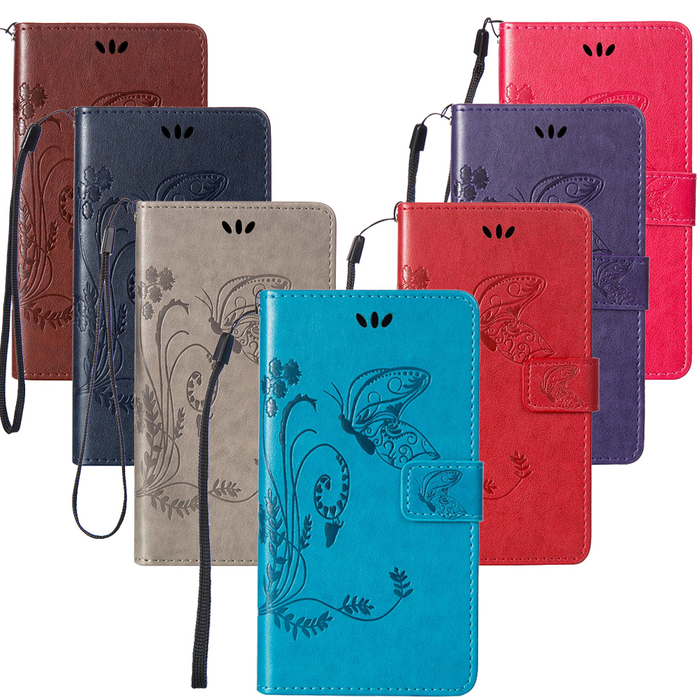 For Coque Google Pixel Case Butterfly Luxury Flip PU Leather Smartphone Protective Cover Case For HTC Google Pixel Capinha Funda