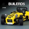 Bloques de Construcción modelo Compatible Con 21307 LEPIN CATERHAM SEVEN 620R 21008 Racing Car Juguetes para niños