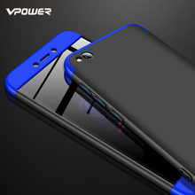 For Xiaomi Redmi Go Case Vpower Luxury Three-In-One 360 Full Protector PC Hard Fundas Cases for Xiaomi Redmi Go Phone Back Cover go ngo partnership in implementing anfbe in addis ababa