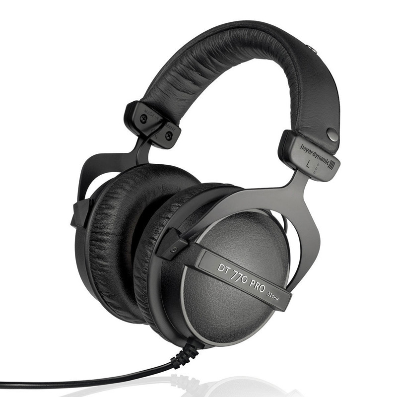 Beyerdynamic DT-770 PRO 32 Ohm Professional Studio Headphones Close Back headphone for Mobile Use NEW IN OFFICIAL RETAIL BOX beyerdynamic dt 990 pro 250 ohm hi fi headphones professional studio headsets open back headband headpones made in germany