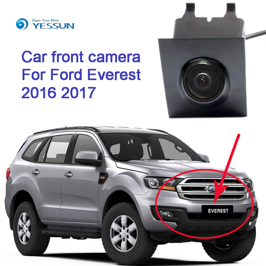 YESSUN CCD HD For Ford Everest 2016 2017 Car Parking Camera Car Special Front Camera Front View Camera Car Front HD Camera