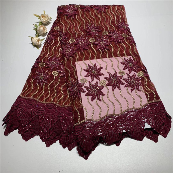 2019 Latest French Nigerian Laces Fabrics High Quality Tulle African Laces Fabric Men/Women Dress African French Tulle Lace(TS-12019 Latest French Nigerian Laces Fabrics High Quality Tulle African Laces Fabric Men/Women Dress African French Tulle Lace(TS-1