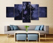 Traxex Warcraft Game 5 Piece HD Print Wall Art Canvas For Living Room Decor Painting Modern Artwork